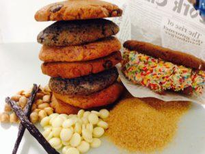 Cookies und ein Ice Cookie Sandwich