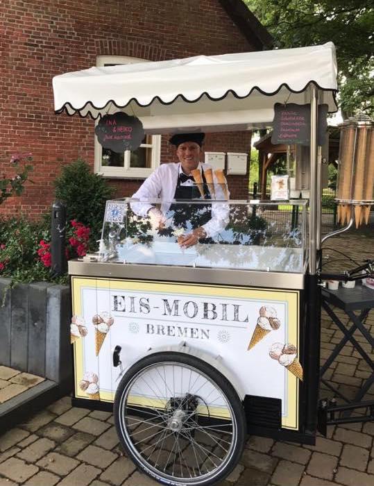 Eisfahrrad vom Eismobil Bremen